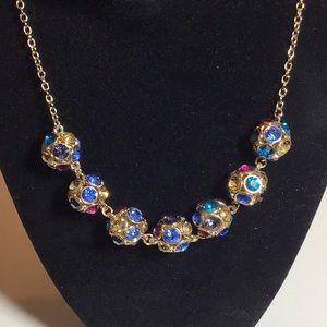 Monet multi color necklace new